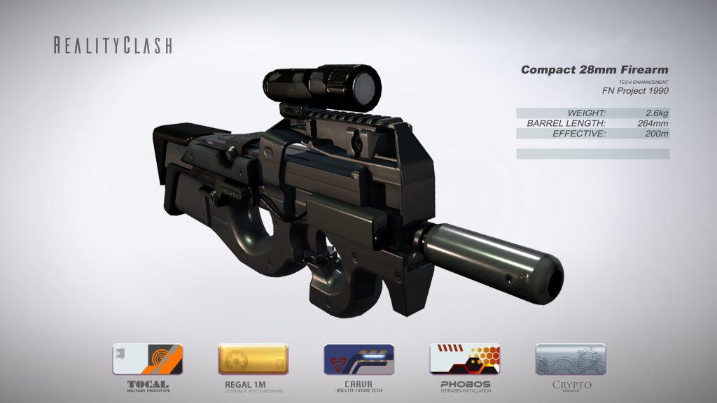 Compact 28mm Firearm