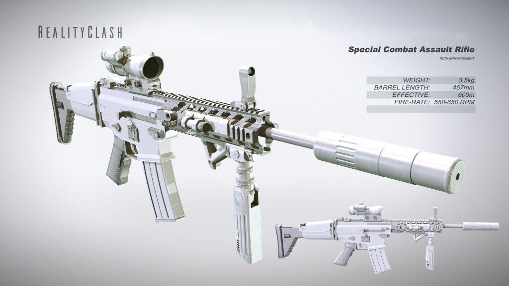 Special Combat Assault Rifle
