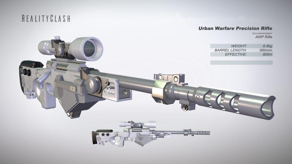 Urban Warfire Precision Rifle